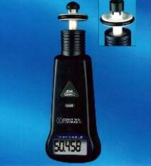 Tachometer offers 0.04% accuracy ±2 digits.