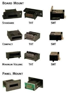 Serial Memory Token Receptacles suit portable devices.