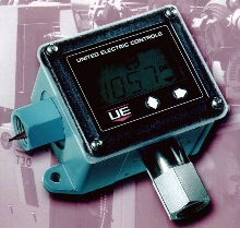Pressure/Temperature Switch handles up to 10 A @ 280 Vac.