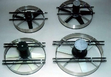 Battery Operated Cooling Fans come in sizes up to 36 in. dia.