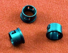 Insulating Bushings are molded of heat stabilized nylon.