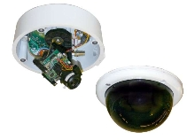 Fixed Camera Domes suit schools and parking garages.