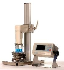 Viscometer measures from 0.3-10,000 cp.