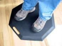 Anti-Fatigue Mat offers secure, stable footing.
