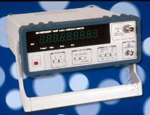Frequency Counter measures from 0.1 Hz to 3.5 GHz.