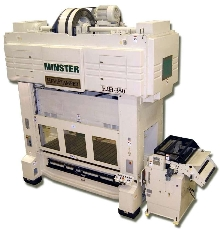 Presses are offered with infinitely adjustable stroke.