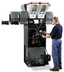 Gravimetric Blender doses difficult bulk materials.