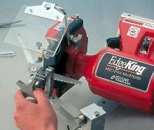 Scissor Blade Sharpener helps extend blade life.