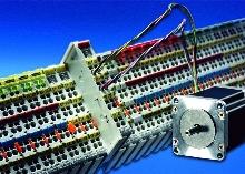 I/O Modules provide drive-like stepper motor control.