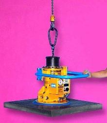 Vacuum Lifter operates from any hoist.