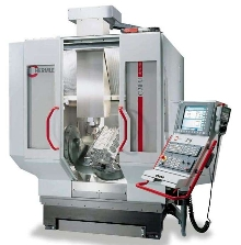 Machining Center performs full 5-axis machining.