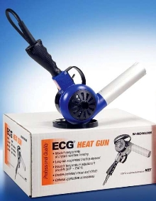 Heat Guns melt and bend plastic and laminates.