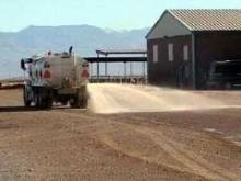 Dust Suppressant eliminates particulate matter emissions.