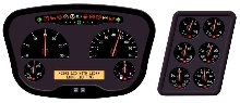 Instrument Panels target construction/commercial vehicles.