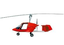 Gyroplane offers stability of regular plane.