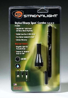 Accessory Pack includes LED pen light.