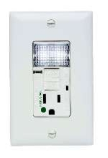 Nightlight Gfci Receptacle Features Hospital Grade Design