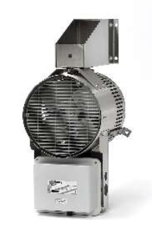 Blower Heater suits harsh environments.