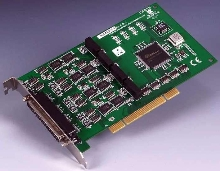Communication Card offers isolation and surge protection.