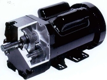 AC Gearmotors are rated to 1½ hp.