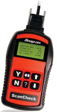 Entry-Level Scan Tool provides all 9 OBD-II test modes