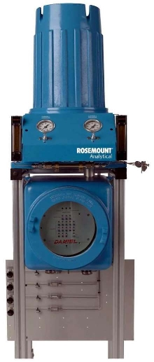 Process Gas Chromatograph operates over -20 to 130°F range.