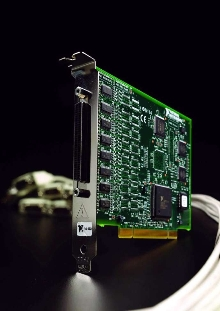 Serial Boards achieve data rates up to 2 Mb/sec.