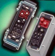 Modular Connectors offer combinations with up to 280 contacts.