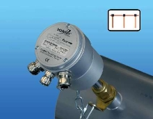 Air/Gas Flow Sensor features integrated Fieldbus interface.
