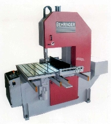 Vertical Plate Saw facilitates material positioning.