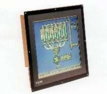 Touch Screen Monitor features NEMA 4/12 compatible bezel.