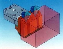Vertical Vise is used with wire EDM machine.
