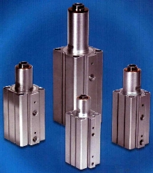 Swing Arm Clamps are offered in 25 and 32 mm bore sizes.