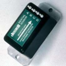 Accelerometer withstands high shock and vibration.