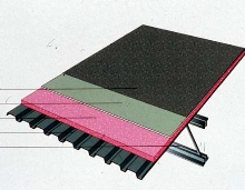 Roof Board suits low-slope commercial roofing.