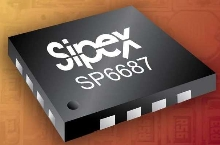 LED Driver independently controls up to 4 white LEDs.