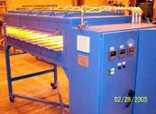 Electric IR Oven dries steel webs that run 200 fpm.