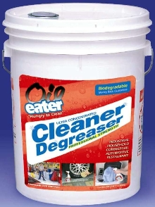 Cleaner/Degreaser replaces multiple cleaning solutions.