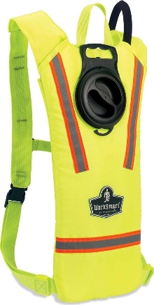 Gear Bag keeps workers hydrated and visible.