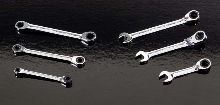 Ratcheting Wrenches fit in tight spaces.
