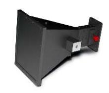 Microwave Horn Antenna facilitates RFI/EMI field testing.