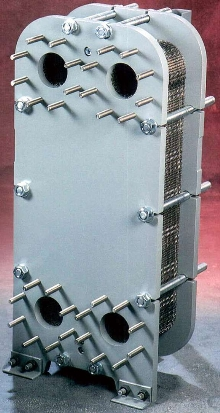 Heat Exchangers have compact, plate-and-frame design.