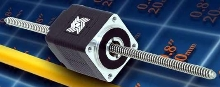 Non-Captive Linear Actuator occupies 0.8 in. space.