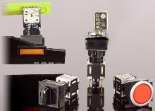 Switches have space-sensitive, ergonomic design.