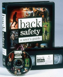 Video-based Training Guide addresses back safety.