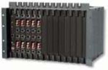 Multiplexer Chassis provides up to 12 slots.