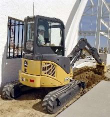 Excavators offer fuel consumption reduction features.