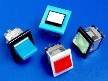 Illuminated Rocker Switches feature snap-in design.
