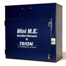 Electronic Mist Eliminator protects equipment and employees.