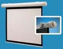 Motorized Projection Screen installs in minutes.
